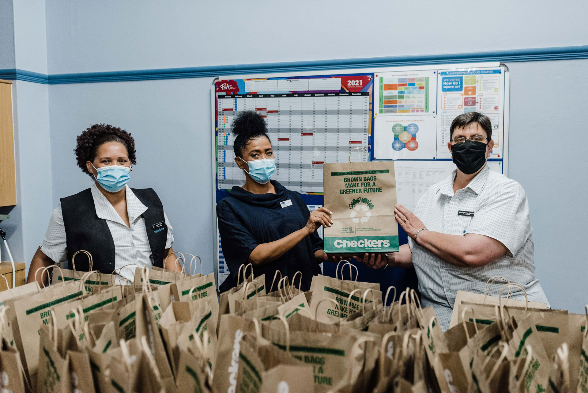 COVID-19 care packages to Oudtshoorn Hospital