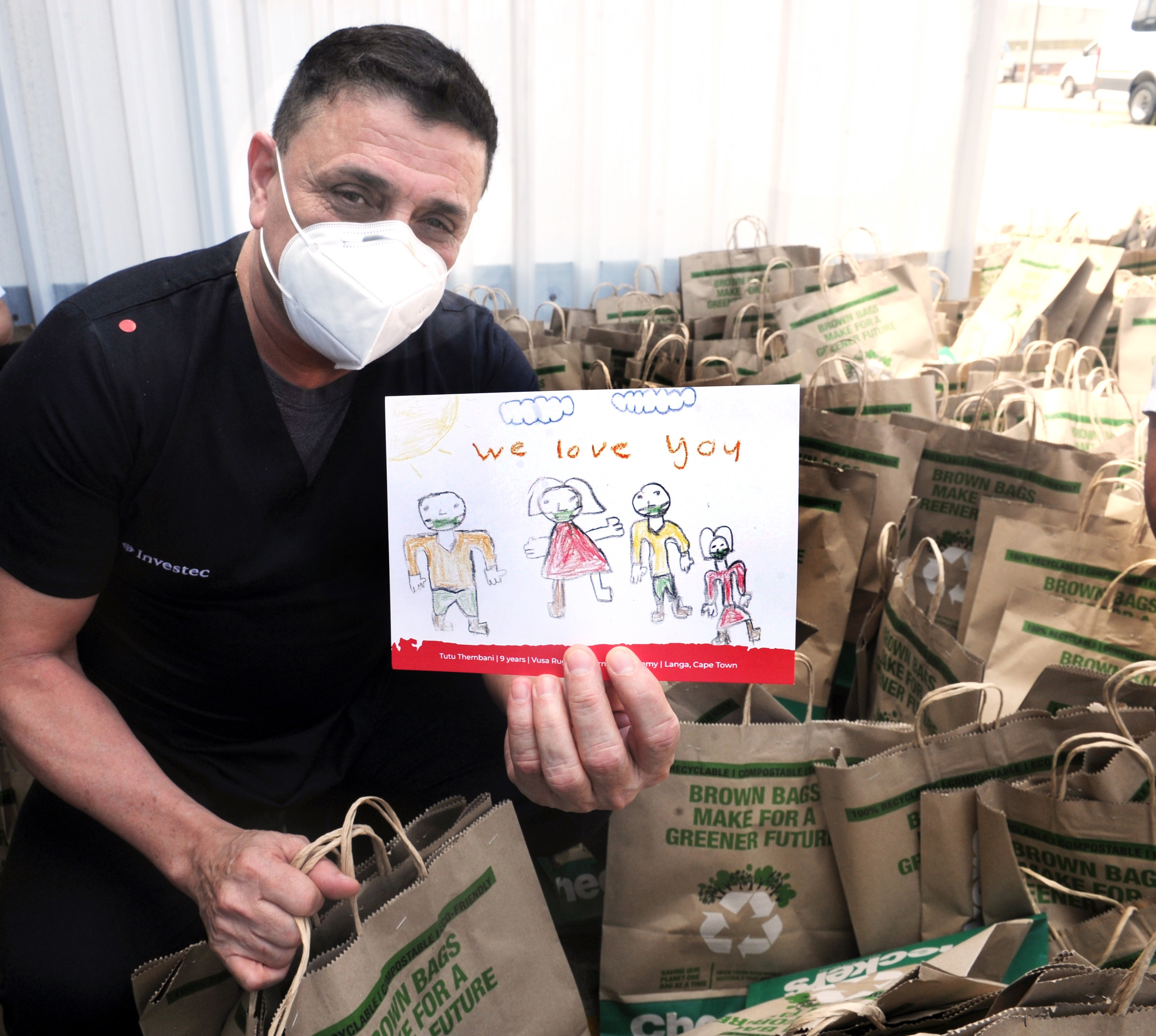 Shoprite care packages donated to healthcare workers in Uitenhage