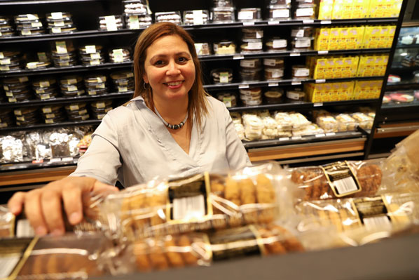 Passionate baker happy at the helm of award-winning business Exquisite Cakes