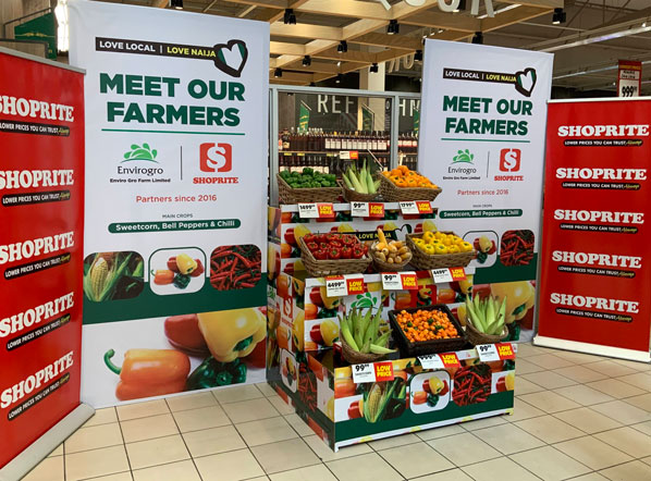 Customers 'meet the farmers' supplying fresh produce to Shoprite stores