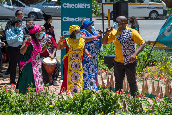 Checkers surprises Charlotte Maxeke Hospital's healthcare workers with Soweto Gospel Choir