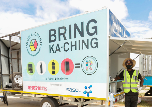 Shoprite and Packa-Ching launch second mobile recycling unit in the Eastern Cape