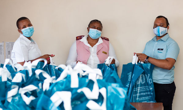 Bloem patients donated essential toiletries