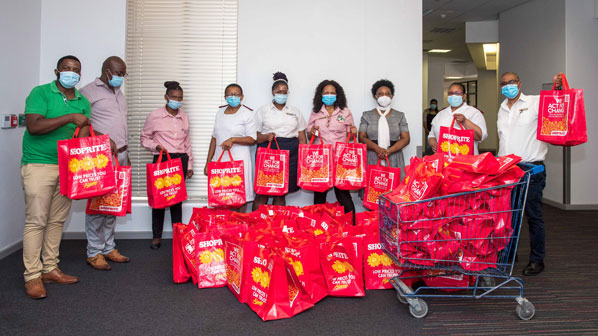 Cecilia Makiwane Hospital receives COVID-19 care packages